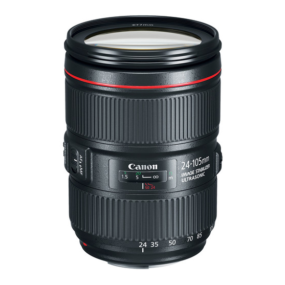 Canon EF 24-105mm f/4L IS II USM - 1
