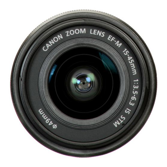 Canon EF-M 15-45mm f/3.5-6.3 IS STM - 3