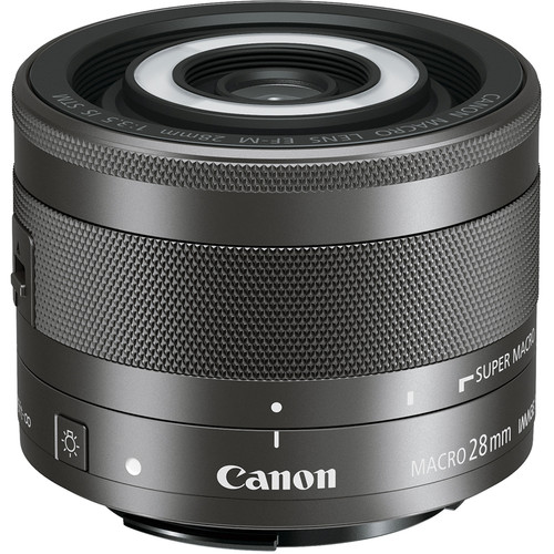 Canon EF-M 28mm f/3.5 Macro IS STM - 1