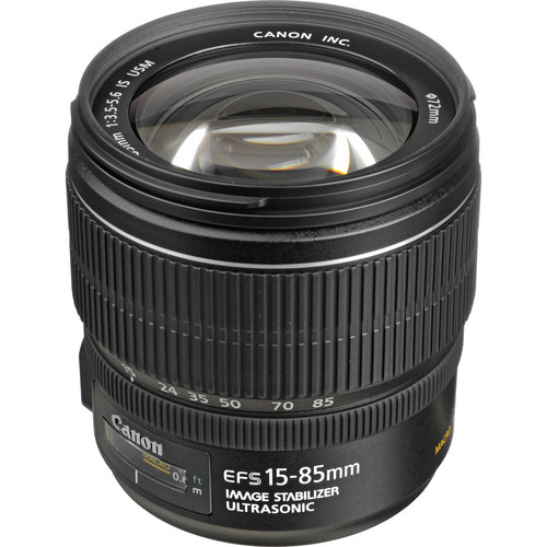 Canon EF-S 15-85mm F3.5-5.6 IS USM - 1