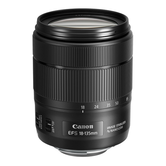 Canon EF-S 18-135mm f/3.5-5.6 IS USM NANO - 1