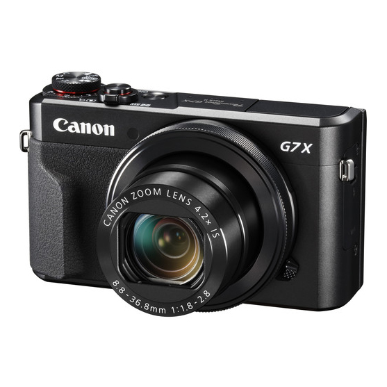 Canon G7 X Mark II - 1