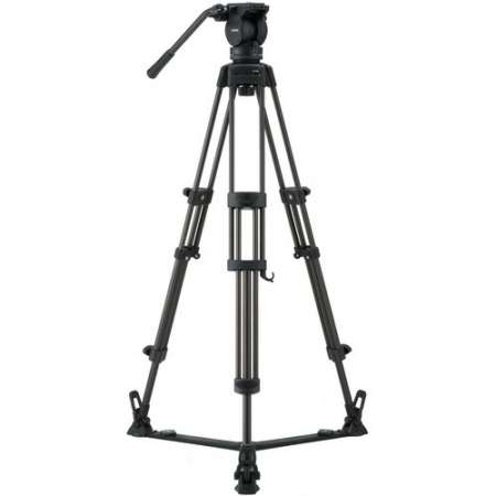 Libec LX7 Tripod with Fluid Head and Spreader