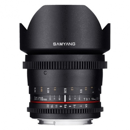 Samyang 10mm T3.1 ED AS NCS CS II VDSLR za Sony