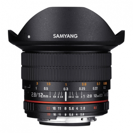 Samyang 12mm f/2.8 ED AS NCS Fisheye za Nikon AE