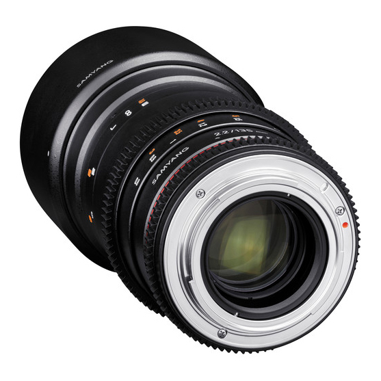 Samyang 135mm T2.2 AS UMC VDSLR II za Sony - 4