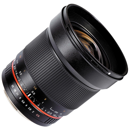 Samyang 16mm F/2.0 ED AS UMC CS za Canon - 4