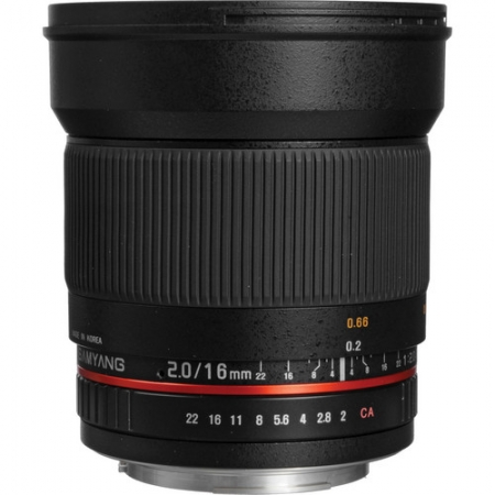 Samyang 16mm F/2.0 ED AS UMC CS za Canon