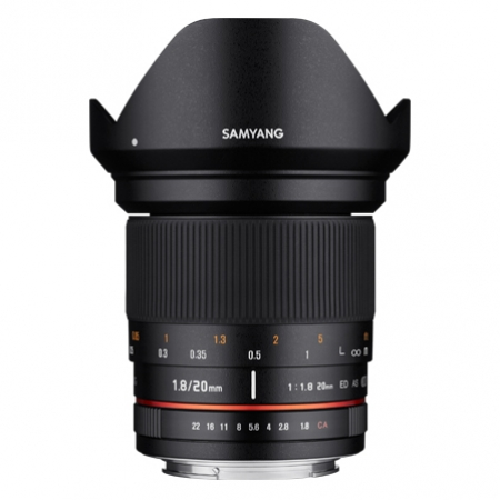 Samyang 20mm f/1.8 ED AS UMC za Sony