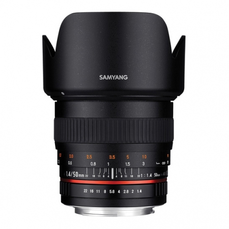 Samyang 50mm f/1.4 AS UMC za Canon