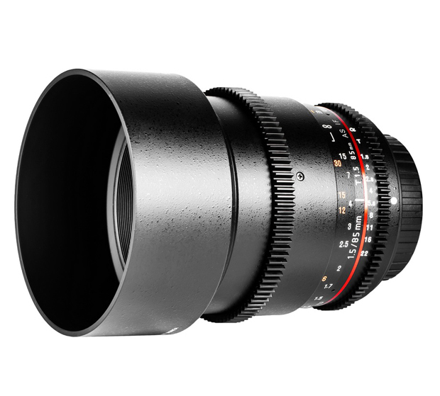Samyang 85mm T1.5 VDSLR AS IF UMC II za Canon - 1