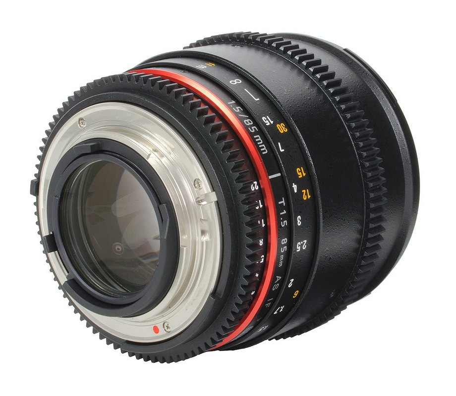 Samyang 85mm T1.5 VDSLR AS IF UMC II za Canon - 2