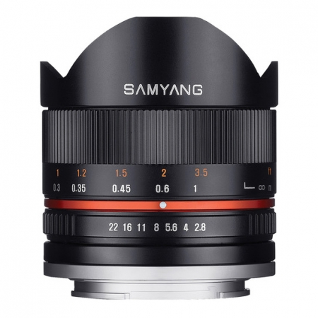 Samyang 8mm f/2.8 Fisheye II za Sony