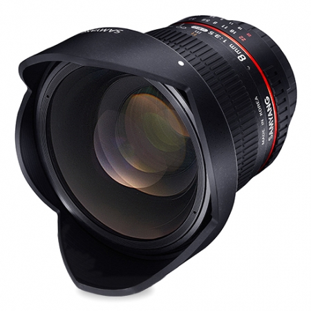 Samyang 8mm f/3.5 UMC Fish-Eye CS II za Nikon