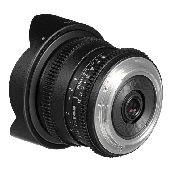 Samyang 8mm T3.8 UMC Fish-Eye CS II za Canon - 2
