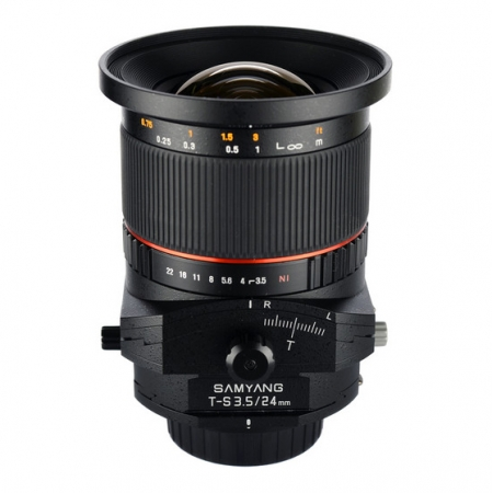 Samyang T-S 24mm f/3.5 ED AS UMC Tilt-Shift za Canon
