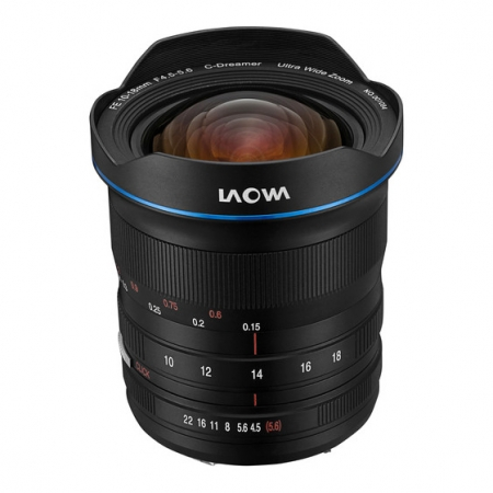 Laowa 10-18mm f/4.5-5.6 FE Zoom za Sony E
