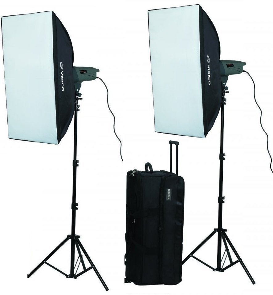 Visico VE-400 PLUS SOFTBOX KIT - 1