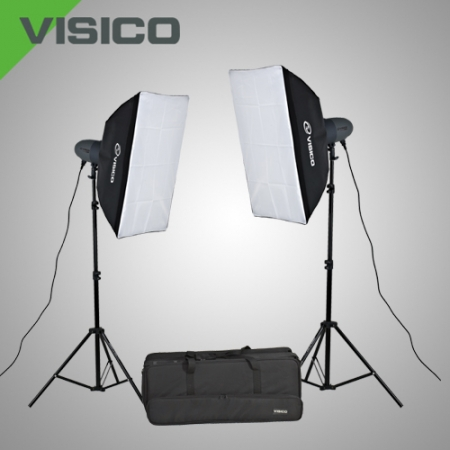 Visico VL-400 PLUS SOFTBOX KIT